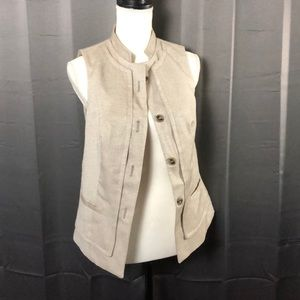 The Limited Tweed Vest